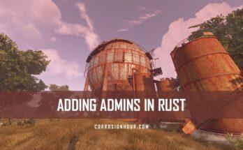 Add RUST Admins