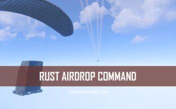 RUST Airdrop Command