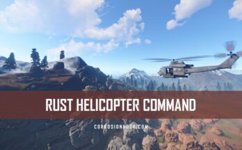 RUST Helicopter Command
