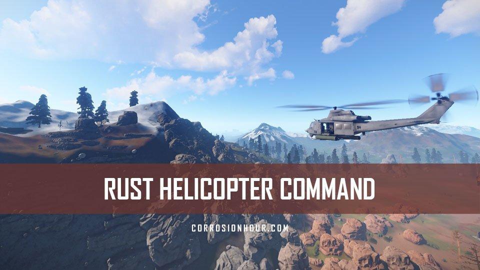 RUST Helicopter Command, Hints and Tips on fire range, crj 200 range, bomb range, learjet range, aircraft range,