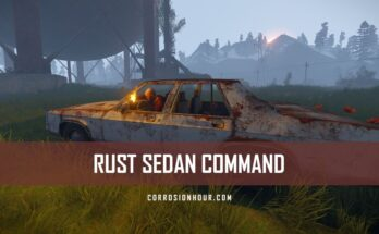 RUST Sedan Command - RUST C ar Command