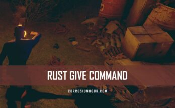 RUST Give Command