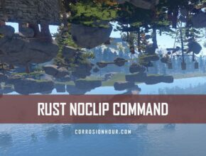 RUST Noclip Command