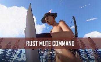 RUST Mute Command
