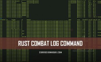 RUST Combat Log Command