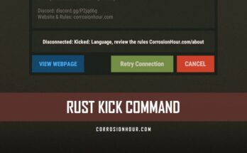 RUST Kick Command