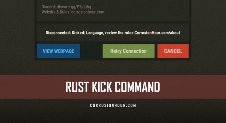 RUST Kick Command