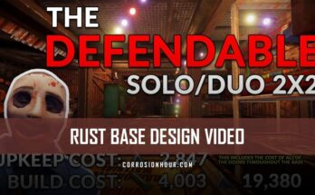 RUST Base Design Solo/Duo 2x2