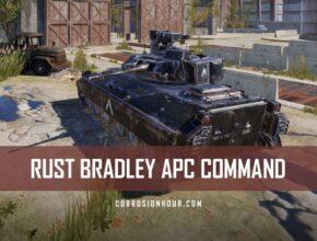 RUST Bradley APC Command