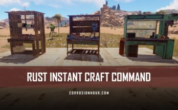 RUST Instant Craft Command
