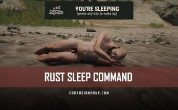 RUST Sleep Command
